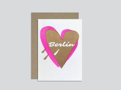 HungryPaper - Klappkarte - Love Berlin