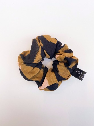 MIO ANIMO Scrunchie Golden Fair made