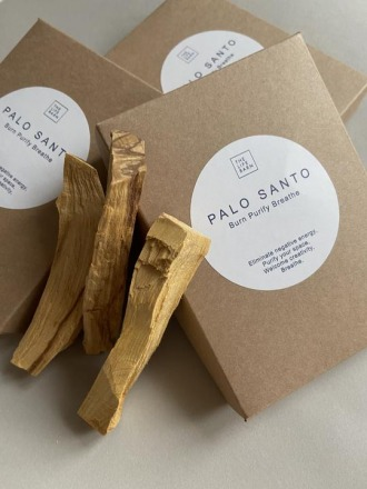 Palo Santo: Burn Purify Breathe THE
