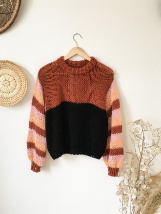 Molina del Rey Handgestrickter Pullover Handmade
