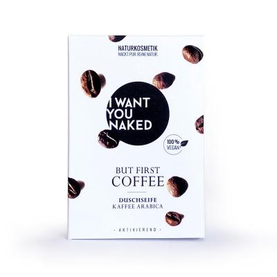 BUT FIRST COFFEE Duschseife Kaffee Mandelöl