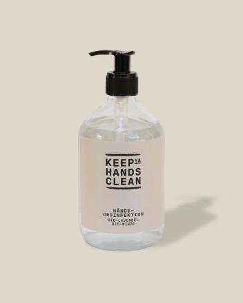 keep ya hands clean Hände-Desinfektion 500ml