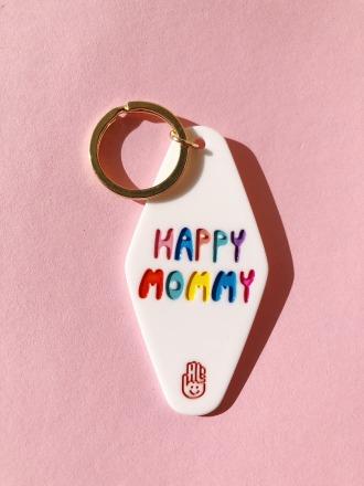Schlüsselanhänger - Happy Mommy - Hello