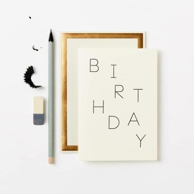 Klappkarte - BIRTHDAY RANDOM CARD -