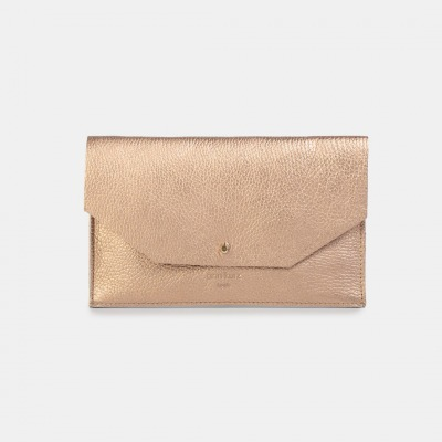 ann kurz Mia Envelope Grained Metallic
