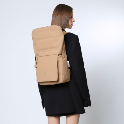 pinqponq Backpack KLAK RAW UMBER pinqponq