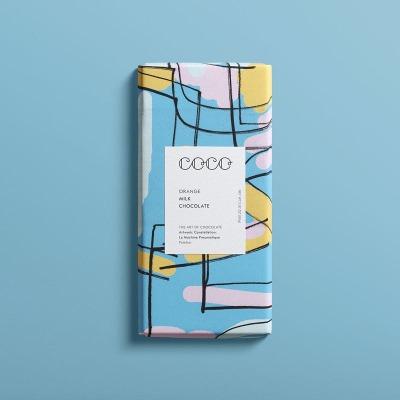 COCO Chocolatier ORANGE VOLLMILCH aus nachhaltig