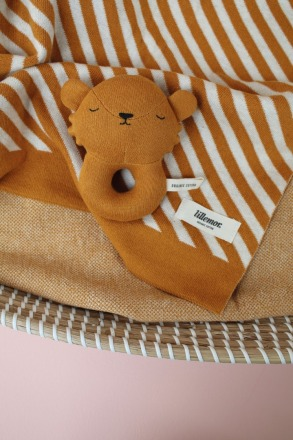 Baby Rattle Lion by Eef