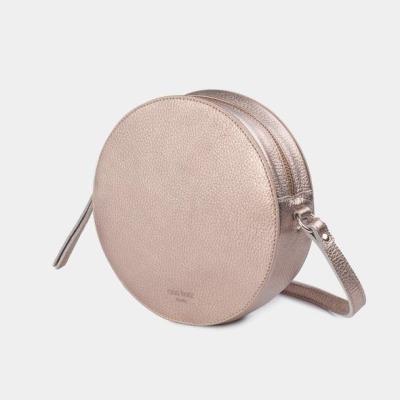 Pia Circle Bag Metallic Rosè ann
