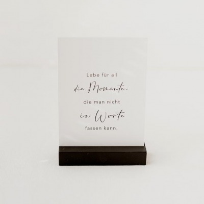 Eulenschnitt - Postkarte - Momente -