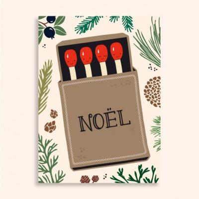 Postkarte - Noel - familytreeshop
