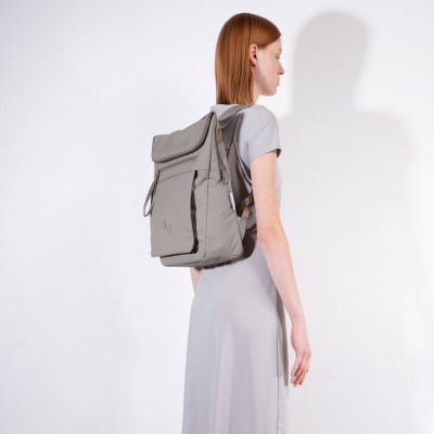 Backpack KLAK CEMENT TAUPE by pinqponq