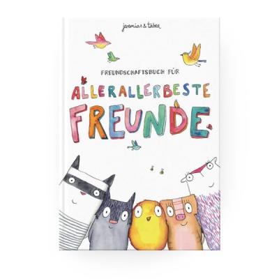 Kinderbuch Freundschaftsbuch für allerallerbeste Freunde jeremias&tabea