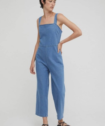 RITA ROW Alina Jumpsuit Denim Ethically