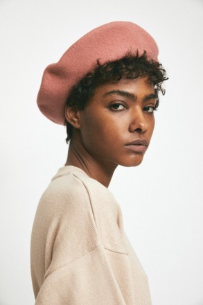 RITA ROW Maple Beret Pink Ethically