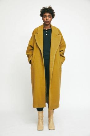 RITA ROW Cedar Coat Olive Ethically