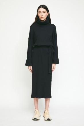 RITA ROW Olivo Dress Black Ethically