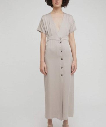 RITA ROW Enya Dress Sand Ethically