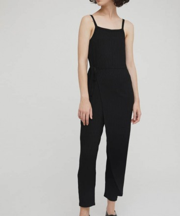 RITA ROW Lina Jumpsuit Black Ethically