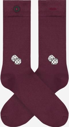 A-dam Socken BRICE Bordeaux PETA zertifiziert