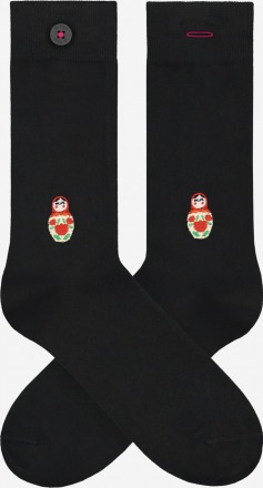A-dam Socken MABEL Black PETA zertifiziert