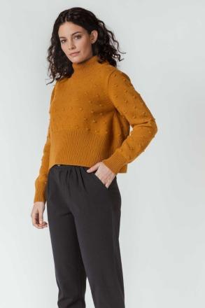 SKFK AMYA SWEATER beige Short knit