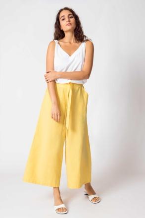 SKFK - DONA Trousers yellow -