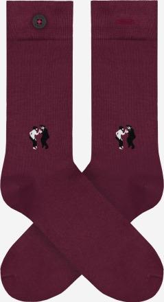 A-dam Socken WALLY Bordeaux PETA zertifiziert
