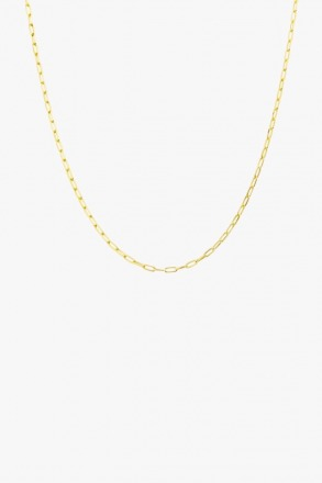 Round gold necklace - wildthings collectables
