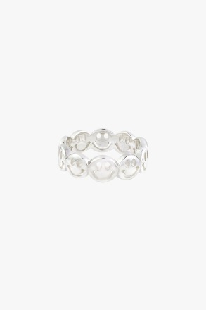 wildthings collectables Smiley Ring Silver produced