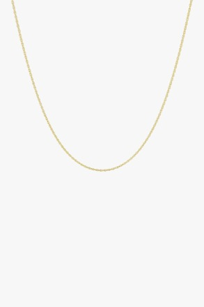 wildthings collectables Rope chain necklace gold