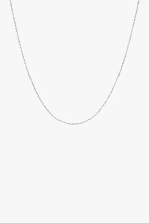 wildthings collectables Rope chain necklace silver