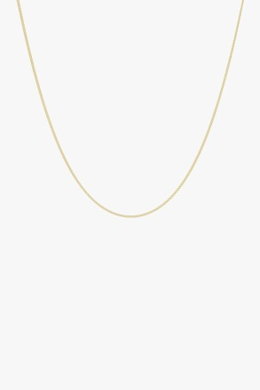Curb chain necklace gold 45cm wildthings
