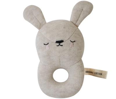 Baby Rattle Bunny Eef Lillemor
