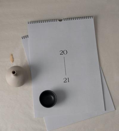 Wandkalender Nachhaltig gedruckter Wandkalender DIN A3
