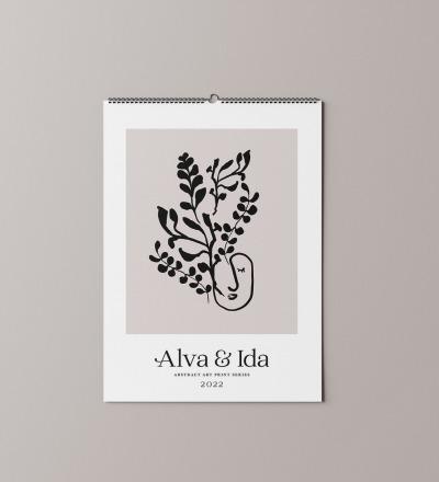 Wandkalender -Terminversion- Nachhaltig gedruckter Wandkalender DIN