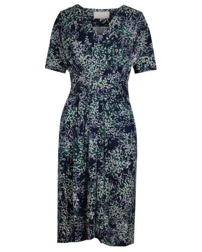 KLEID MIT PRINT Kleid mit V-Ausschnitt
