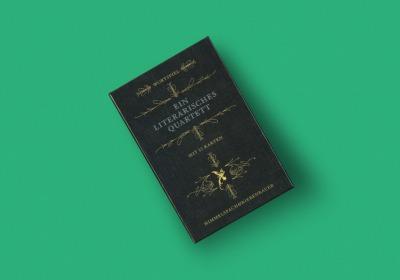 EIN LITERARISCHES QUARTETT Das Kartenspiel mit