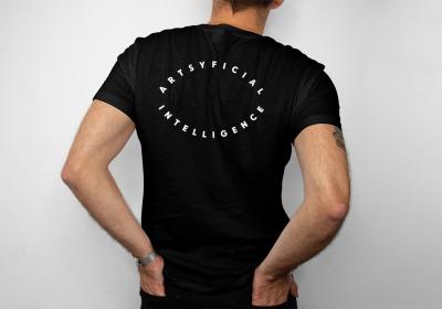 Artsyficial Intelligence - Designer-T-Shirt