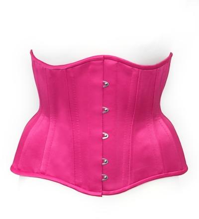 Unterbrustkorsett Loreley - Satin pink