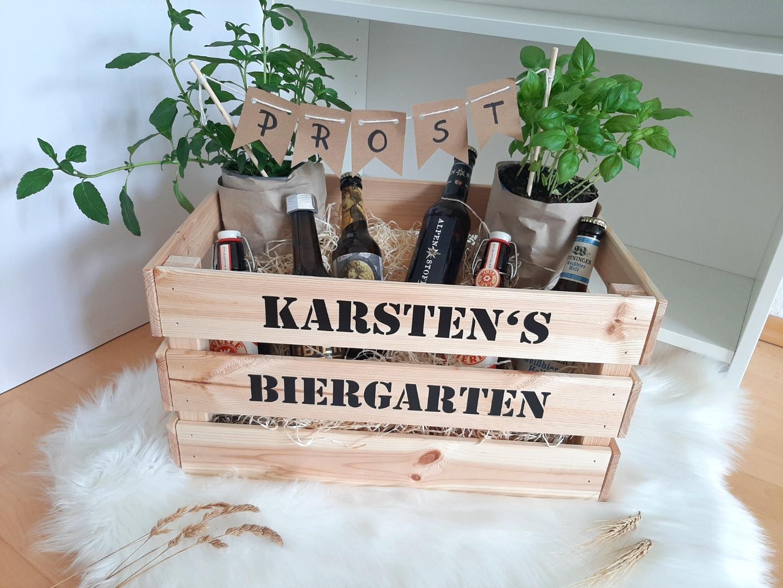 Biergarten / Kräutergarten mit Namen