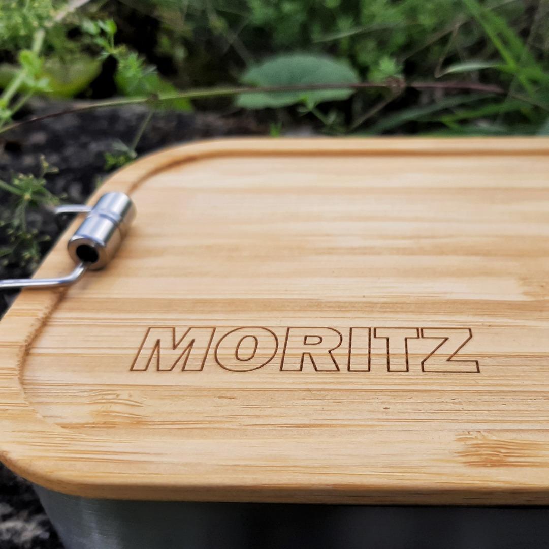 Bambus Lunchbox personalisiert minimalitisch 2