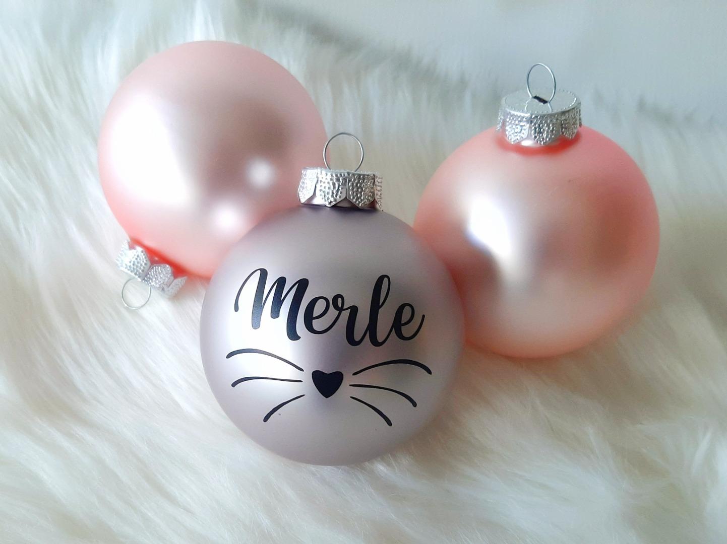 Haustier Aufkleber für Weihnachtskugel 8
