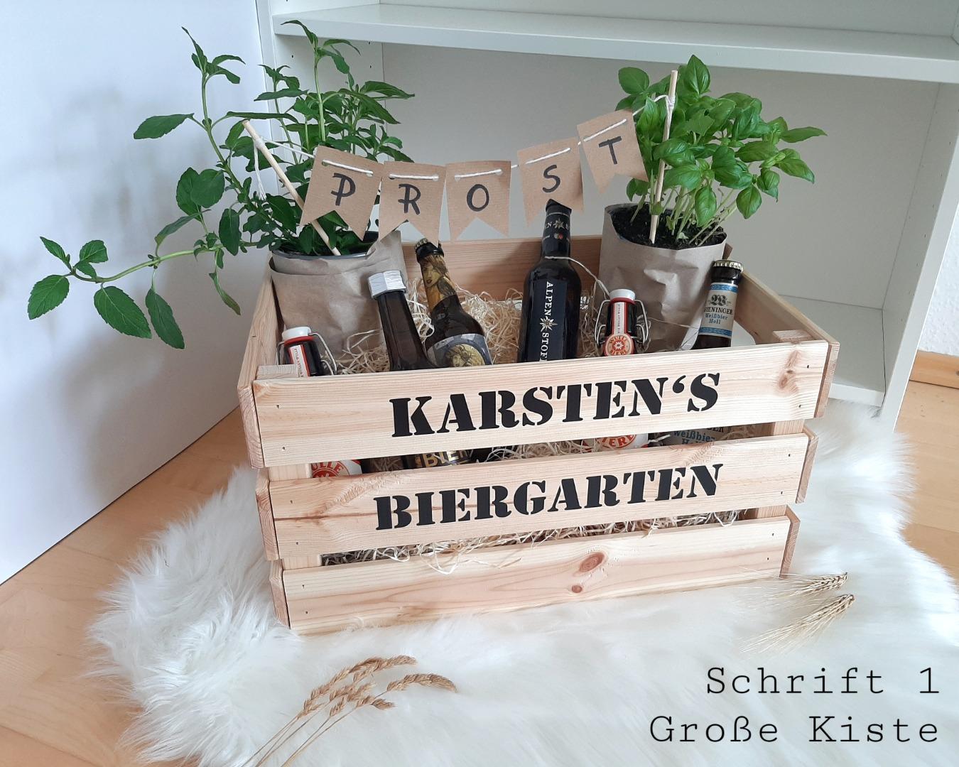 Biergarten / Kräutergarten mit Namen 4