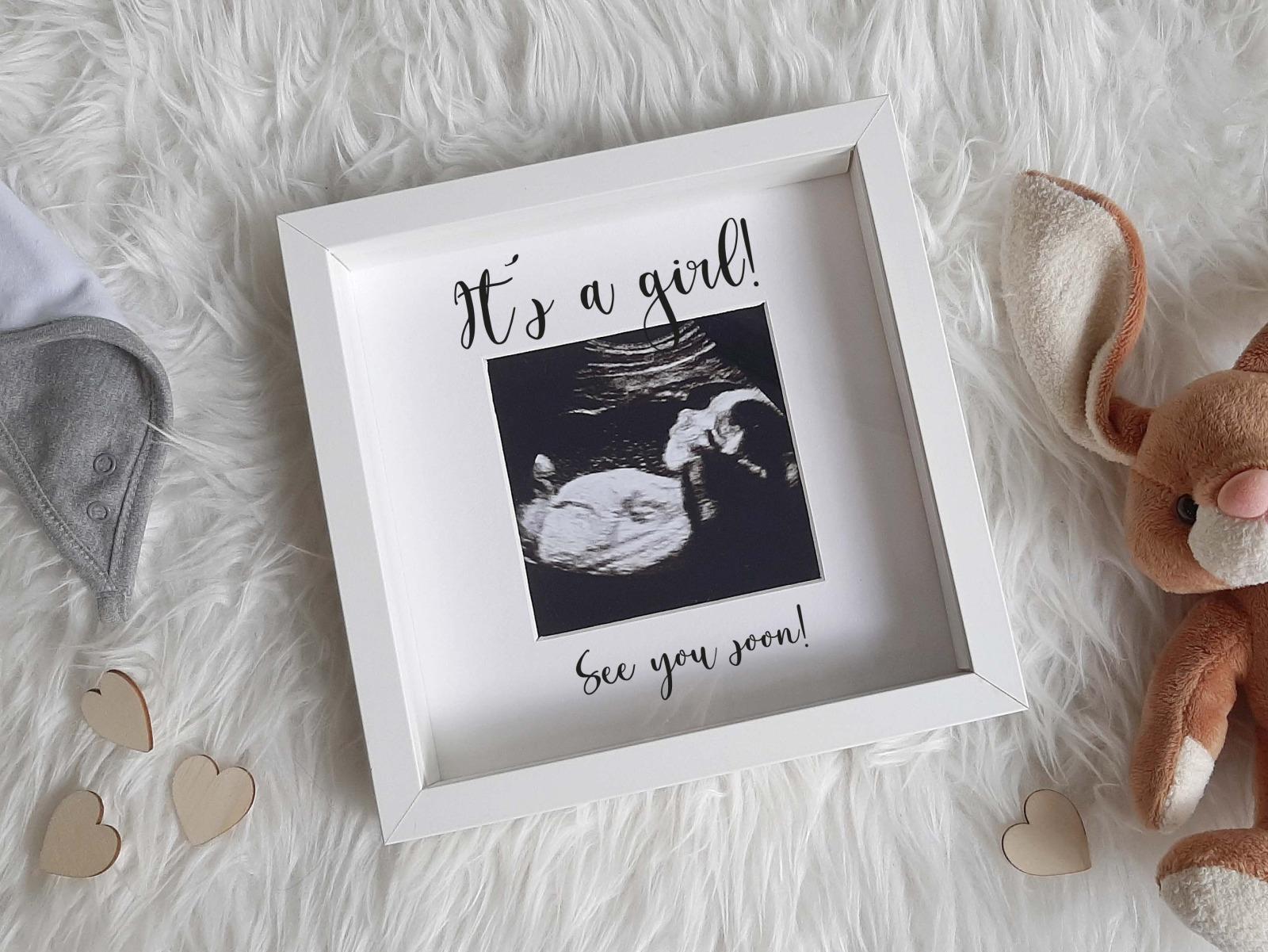 Baby Bilderrahmen mit Schriftzug 6