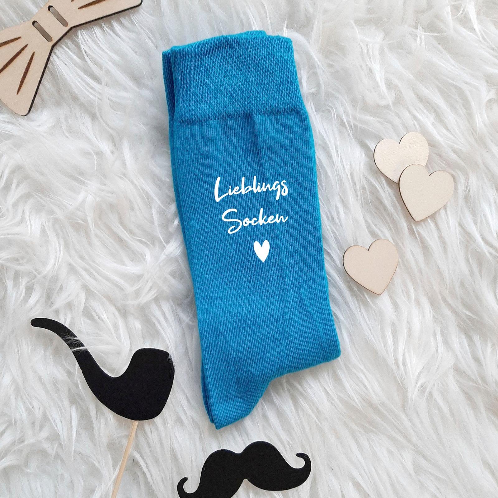 Fun Socken-Bunt | Spruch Socken |