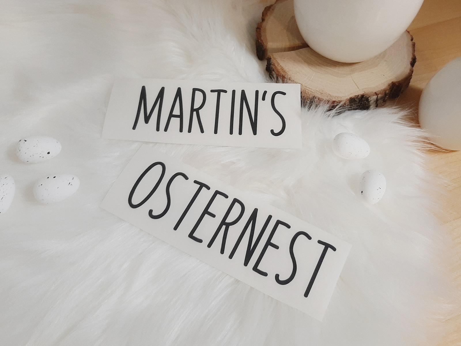 Osterkiste mit Namen Personalisiertes Osternest 6