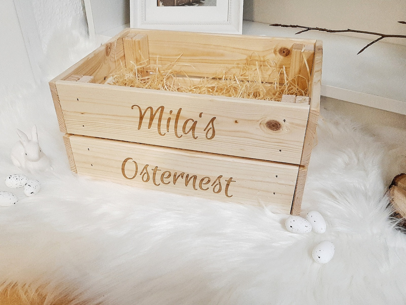 Osterkiste mit Wunschname 7