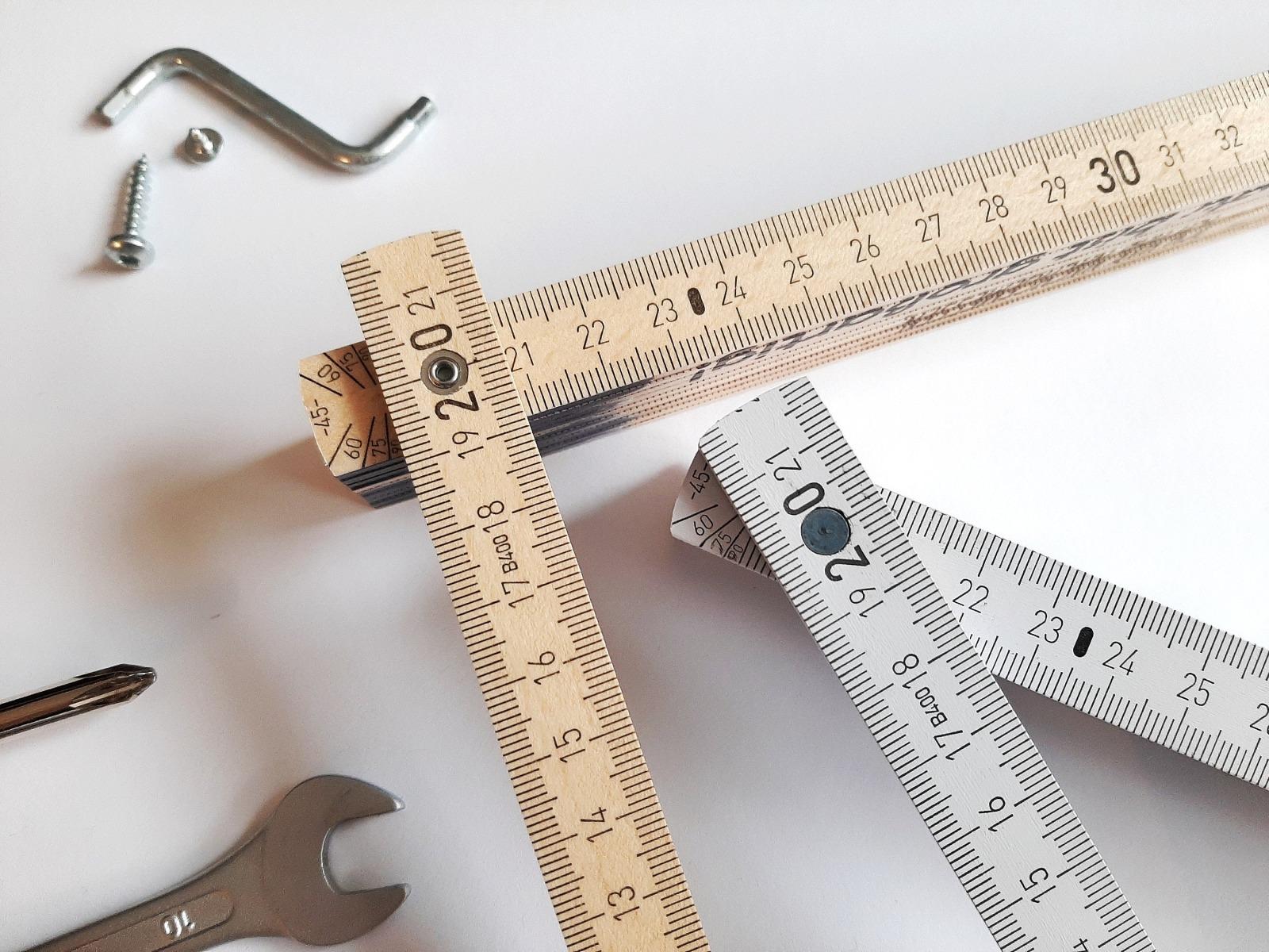 Meterstab mit Namen Zollstock graviert 6