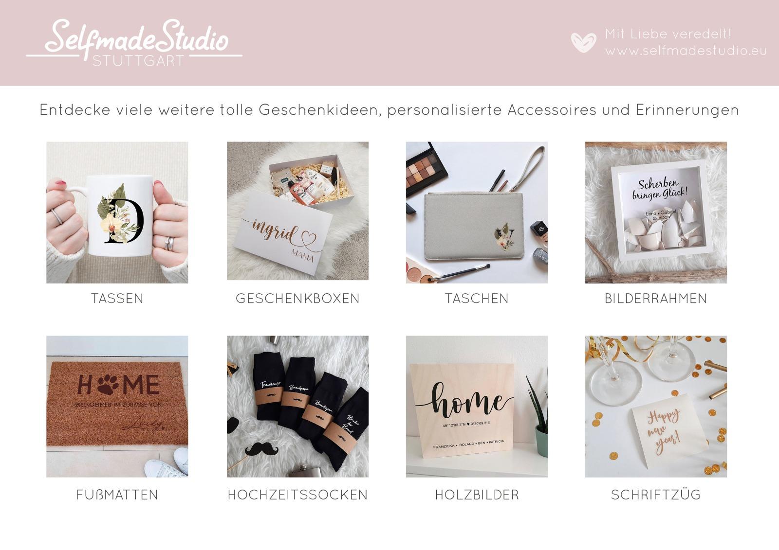 Geschenkbox mit Rosen-Look 7